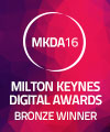 Milton Keynes Digital Awards 2016 Bronze Winner for Small Business Website