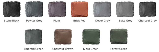 Tapco Slate Colour Options